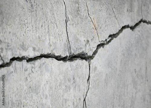 Fotografía  stone crack