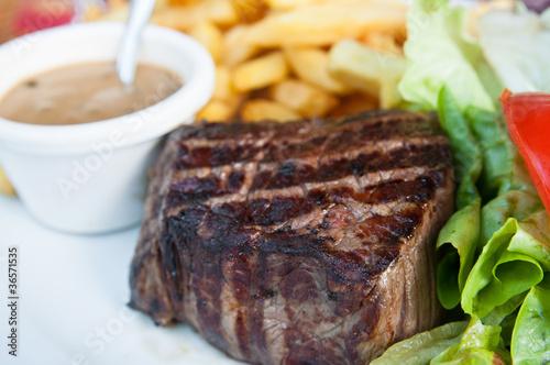 Papiers peints Steakhouse steak beef meat