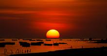 Big Ball Sunset