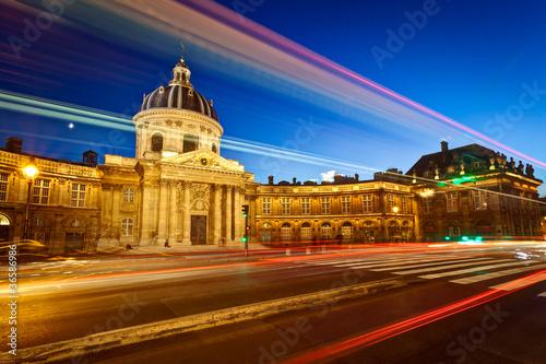 Obraz Instytut Francji, Paryż - fototapety do salonu