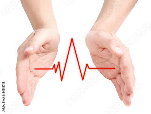 Fototapety, obrazy: Heartbeat