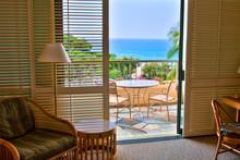 Ocean View  From Tropical Resort Room