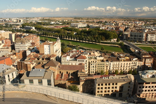 aerial view of Lleida