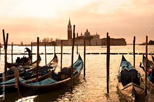 Foto op Plexiglas Venetie Venice, View of San Giorgio maggiore from San Marco.