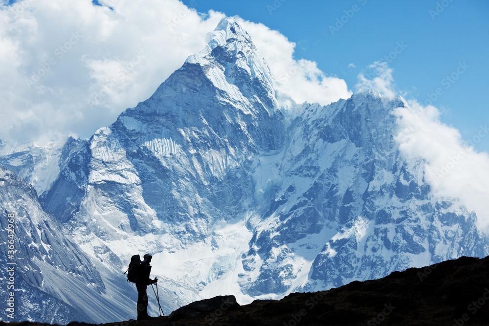 Fototapety, obrazy: Hike in Nepal