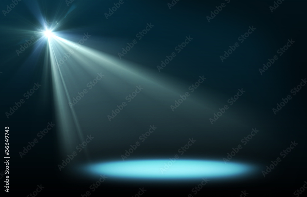 Fototapety, obrazy: Abstract image of concert lighting