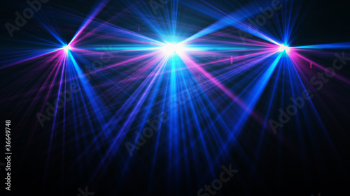 Fotografía  Abstract image of concert lighting