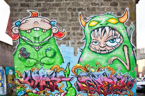 Colorful graffiti © frimerke