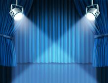 Spotlights On Blue Velvet Cine...