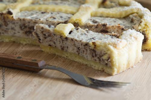 Valokuva  Ricotta Cake.