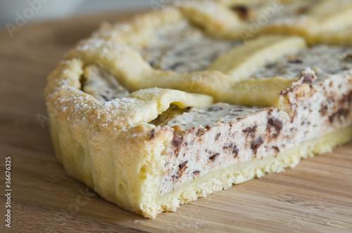 Fotografia, Obraz  Ricotta Cake.