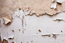 Paint Peeling Off Plaster Wall...