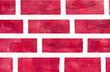 Faked brickwall