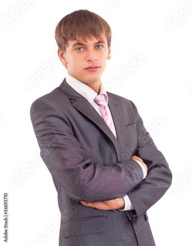 Fotografie, Obraz  Portrait of a business man