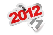2012 Vs 2011 Carte Bonne Année, 2012 Greeting Card