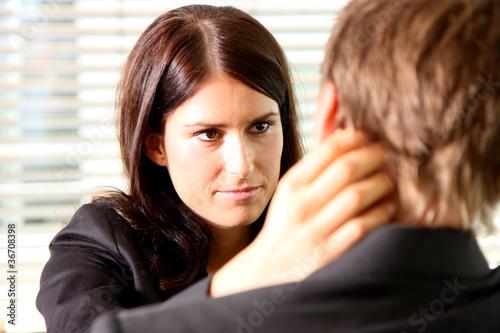 flirt mit kollegen
