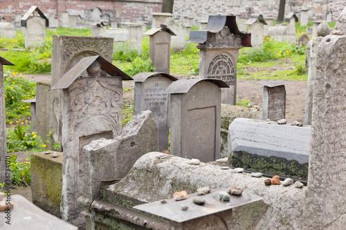 Fototapeta Old Jewish cemetery obraz