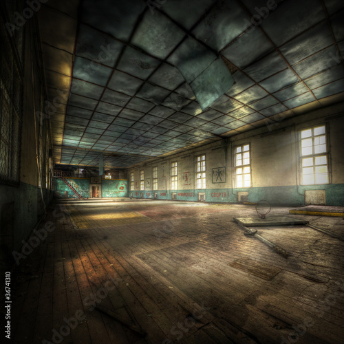 Photo  abandoned Gym