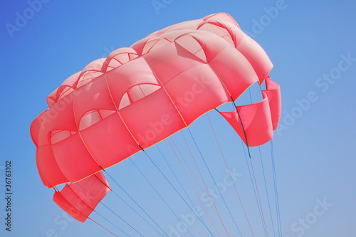 Canvas Prints Sky sports Parasailing