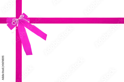 Image Ou Photo De Noel.Noeud De Cadeau De Noel Ou Anniversaire Rose Buy This