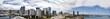 Honolulu wide panorama