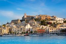 Ibiza Eivissa Town With Blue M...