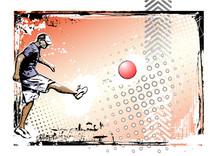 Kickball Poster Background