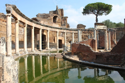 Photo sur Aluminium Rome Villa Adriana near Rome