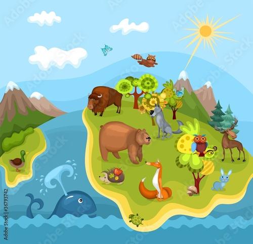 zielona-wyspa-pelna-zwierzat