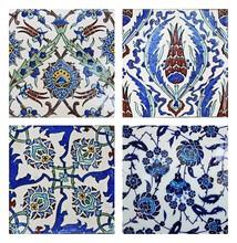 Turkish Wall Tiles,Collage