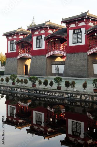 Foto op Plexiglas Xian Chinese ancient buildings