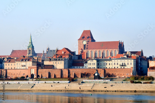 The old town of Torun