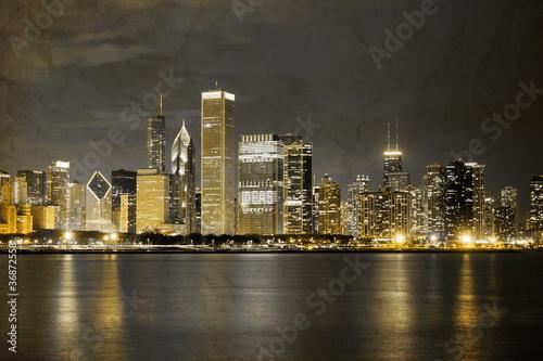 Photo  Vintage Design: Chicago