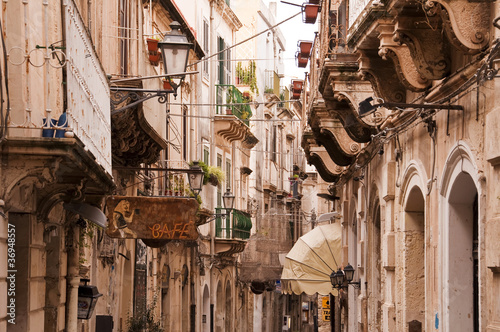Ruelles de Syracuse - Sicile, Italie