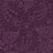 canvas print picture - Seamless Paisley Pattern