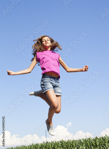 Fototapeta energy weightlessness youth