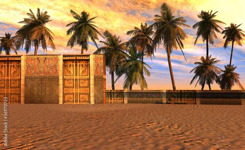 Obraz na plátně 3D - Ancient Egypt
