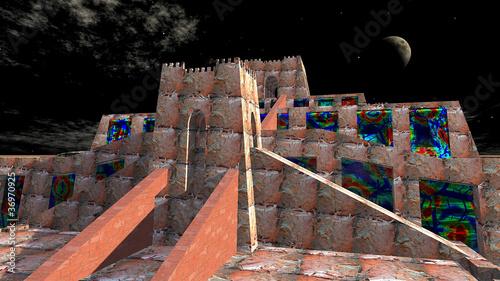 Valokuva  3D - Zigurath