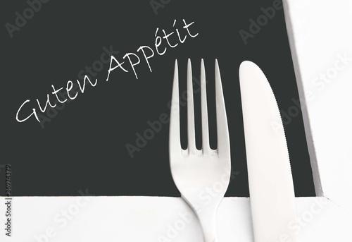 Guten Appetit Fototapeta