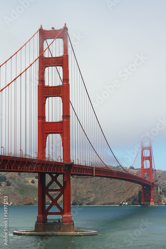 Fotobehang San Francisco Golden Gate Bridge, San Francisco