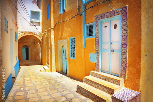 Printed kitchen splashbacks Tunisia Arabian street