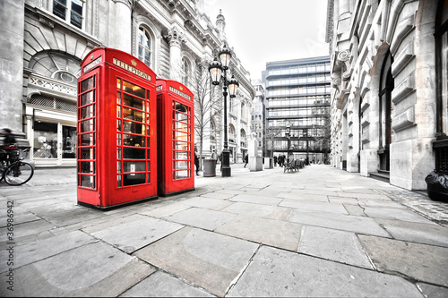 Photo sur Toile Londres booths