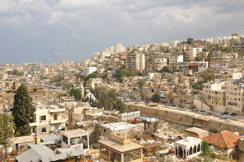 The city of Tripoli in North Lebanon.