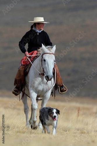 Photo  Cowgirl