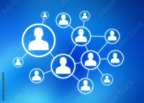 Fotografía  réseau social