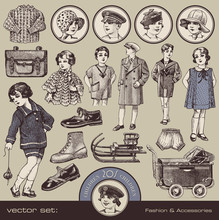 Children's Fashion, Accessories And Toys (20s)