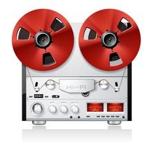 Vintage Analog Stereo Reel To ...
