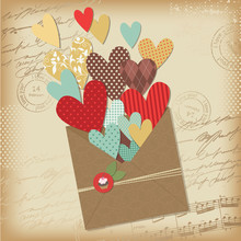 Greeting Letter, Valentine's Day