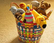 Basket Of Toys