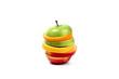 hamburger di frutta succoso